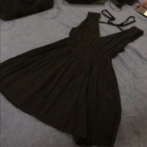 Madewell black shift dress